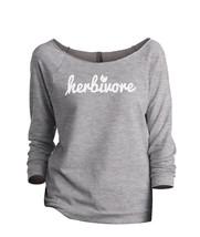 Thread Tank Herbivore Women's Slouchy 3/4 Sleeves Raglan Sweatshirt Sport Grey - $24.99+