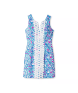 Lilly Pulitzer x Target 20th Anniversary My Fans Split Neck Shift Dress ... - $67.99