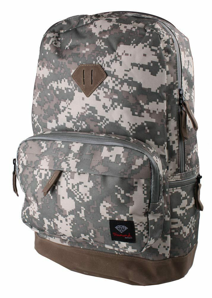 Diamond Supply Co. Digital Camouflage Backpack Green Desert Camo