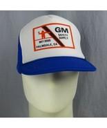 Vintage GM Sicherheit Versorgung Palmdale California Kappe Trucker Mütze... - $18.17