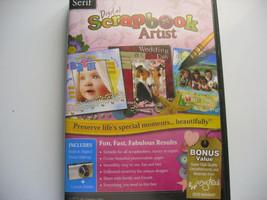 Serif Digital Scrapbook Artist for Windows XP/Vista/7/8/8.1/10 Includes ... - $9.90