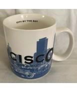 Starbucks San Francisco Barista Skyline Series Coffee Mug 18 oz 2005 Cit... - $14.84