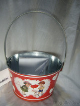 Bethany Lowe Tin Valentine Bucket for Wine or other Gifts image 2