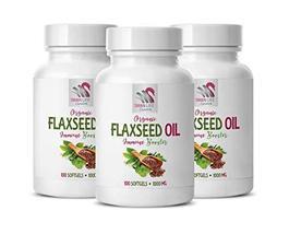Flaxseed Oil Cholesterol - Flaxseed Oil Organic 1000mg - Immune Support ... - $39.55