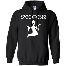 Spooky Spooktober Ghost Phantom Winter Shirt For Halloween Black Navy S-5XL - $39.55
