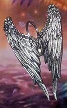 Final Fantasy 8 Rinoa Siren wings pendant charm Sterling silver Jewelry - $60.08