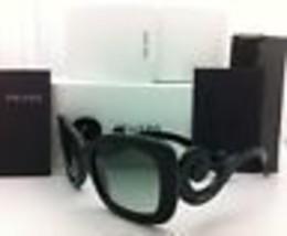Nuevo Auténtico Prada Gafas de Sol Spr 27O 1ab-3m1 54-19 Negro W/ Gris D... - $290.83