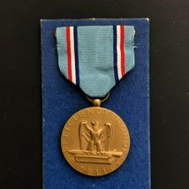 Vintage Air Force Good Conduct Medal Blue Ribbon USAF Military USA - $19.99