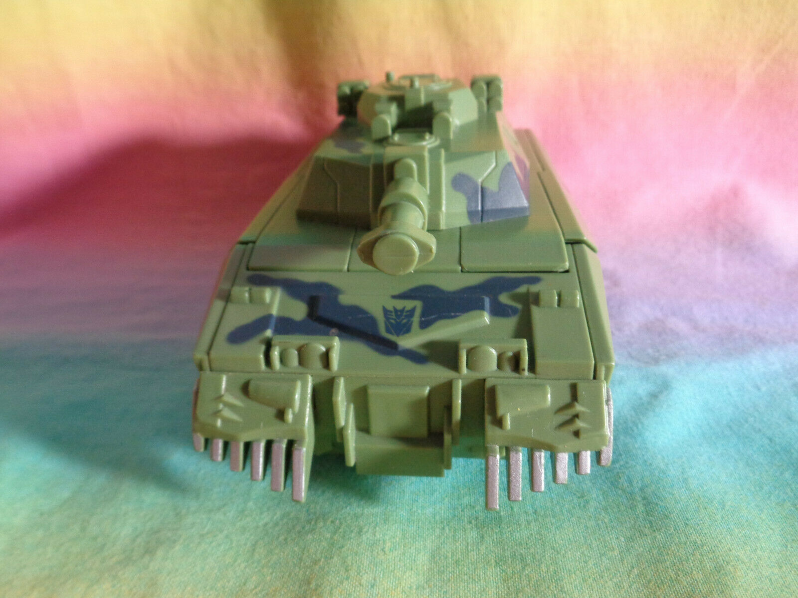 Transformers 2008 Hasbro Green Army Tank Replacement Parts - as is image 2