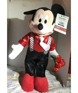 Disney Mickey Mouse Valentine Greeter 24 Inch Valentines Day - $35.00