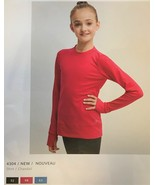 Mondor Model 4304 Girls Skating Long Sleeve Top 9R Red/Rouge Size Child ... - $51.99