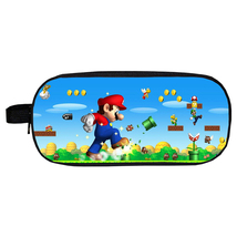 WM Super Mario Pencil Case Pen Bag Storage Bag A - $5.99