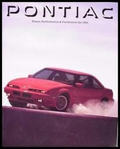 1991 Pontiac Dlx Color Brochure- Firebird, Trans Am - $9.07