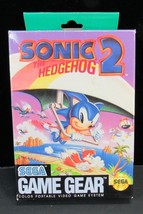 SEGA GAME GEAR SONIC THE HEDGEHOG 2 IN ORIGINAL BOX -J4 - $8.99