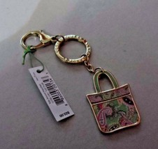 Vera Bradley Tutti Frutti Tote Around keychain NWT - $15.00