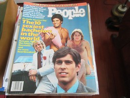 The 10 Sexiest Bachelors In The World, People Magazine , 11/19/79 , Bo D... - $24.75