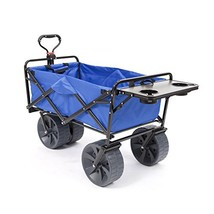 Mac Sports Heavy Duty Collapsible Folding All Terrain Utility Wagon Beac... - $163.86