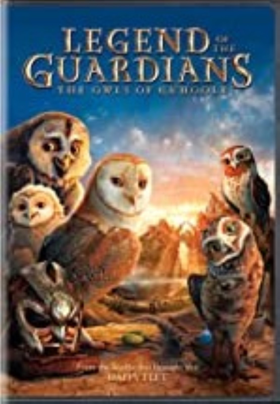 Legend of the Guardians: The Owls of Ga'hoole  Dvd