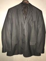 MICHAEL KORS Men's Gray Blazer Jacket Sport Coat Two Button 48 L Poly/Rayon - $39.99