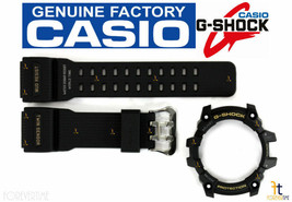 CASIO G-Shock MUDMASTER GG-1000-1A BLACK Rubber Watch BAND & BEZEL Combo - $82.95