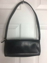 Liz Claiborne Villager Purse Classic Little Black Purse Handbag - $8.47