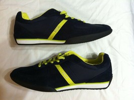 Polo Ralph Lauren Mens New Navy Blue LEATHER/FABRIC Fashion Sneakers SIZE:11.5 - $108.55