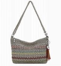 NWT The Sak Casual Classic 3 in 1 Crochet Crossbody Bag Woodlan Stripe SHIP INTL - $58.75