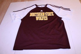 Men's Northern State Wolves L Basketball Warmup Pullover Jersey Shirt Ad... - $28.04