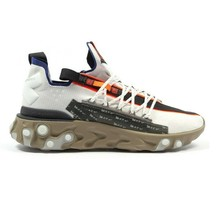 Nike React ISPA Water Resistant Low Summit White AR8555-100 Mens Size 14 - $159.95