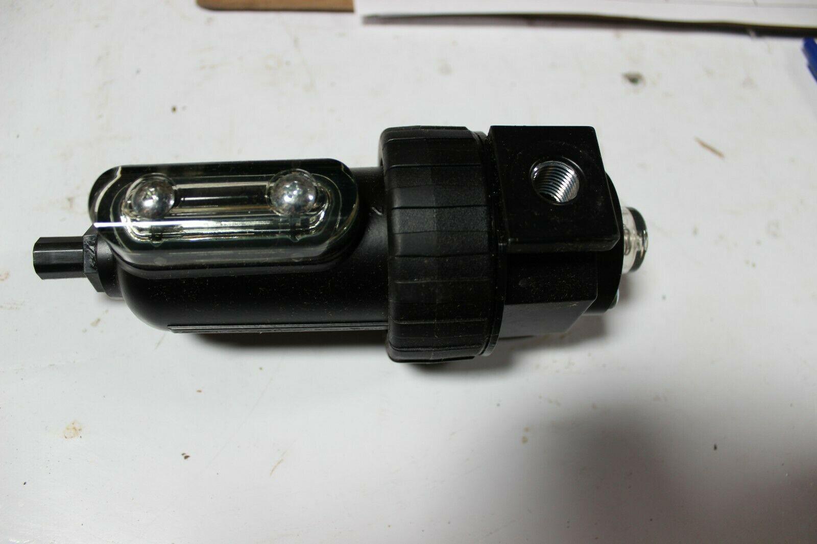 """Parker 11F18EC 11F Series Pneumatic Compact Coalescing Filter 1/4"""" Ports New"""