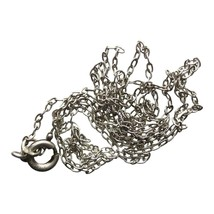 Silver Chain Vintage Jewellery Necklace Accessories (DEV346-) - $12.00