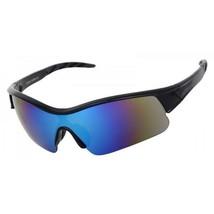 X Hunter Brand Semi Rimless Flash Mirror Green Lens Sports Sunglasses An... - $12.56