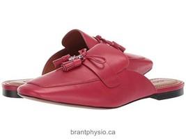 Coach tassel Slide RED Loafers NIB - $67.99