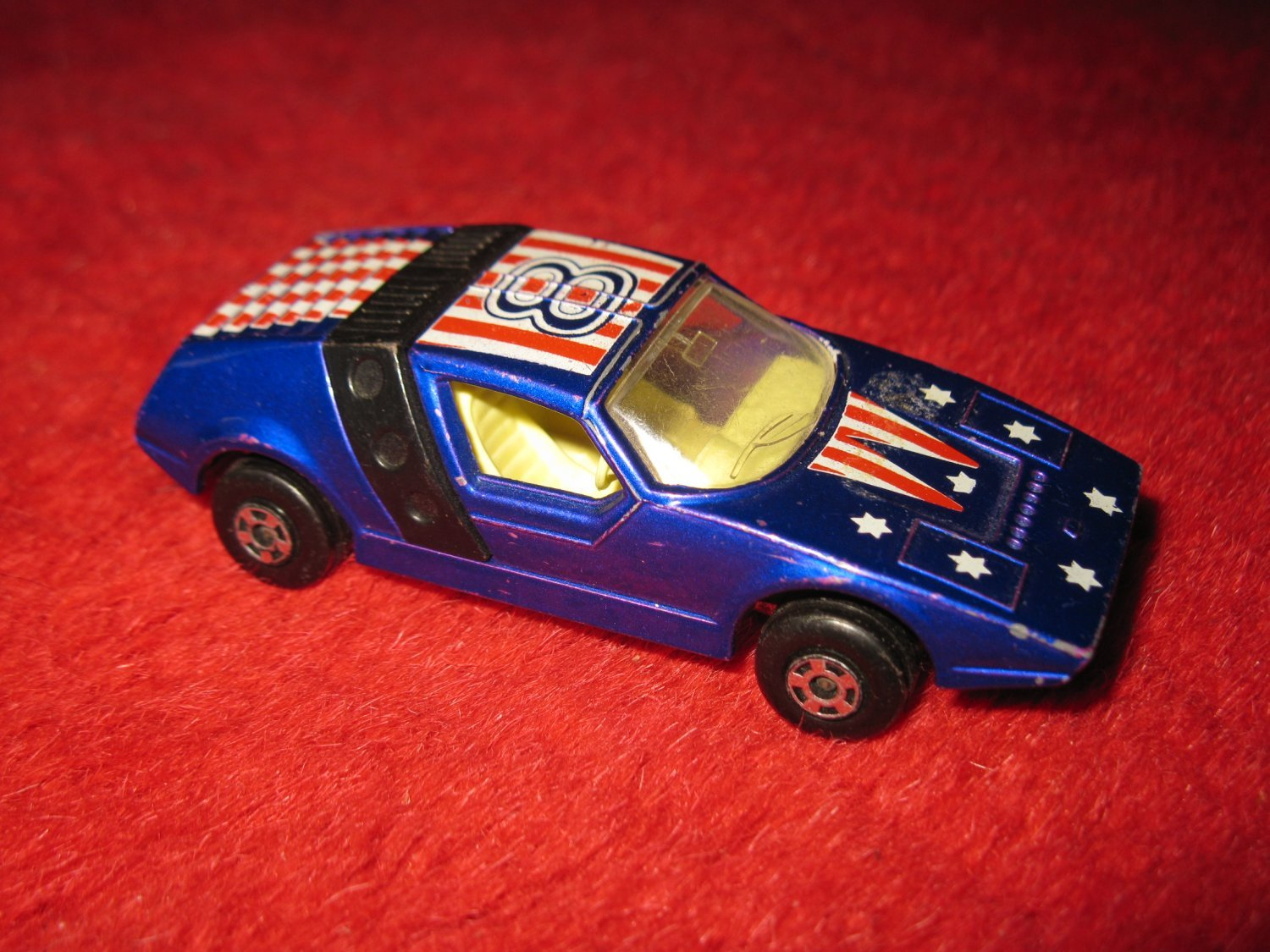 1972 Lesney / Matchbox Die Cast Car: Superfast #41 Siva Spyder