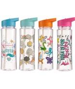 500ml Water Bottle with Mermaid, Weather, Yoga and Balloon Animal Printe... - $13.55