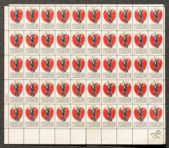 Johnny Appleseed, Sheet of 5 cent stamps, 50 st... - $7.50