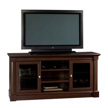 Sauder Palladia Entertainment Credenza Home Decor Furniture TV Stand Stereo New - $266.97
