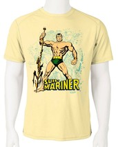 Sub Mariner Dri Fit graphic Tshirt moisture wicking superhero comic book SPF tee image 2