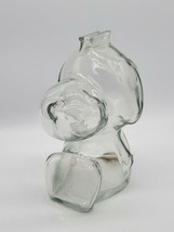 Vintage 1966 Anchor Hocking Heavy Glass Snoopy Bank - $9.90
