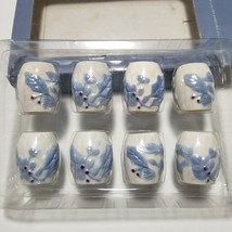 Pfaltzgraff  Winter Frost 4 Mini Sets of Individual Salt and Pepper Shakers - $12.19
