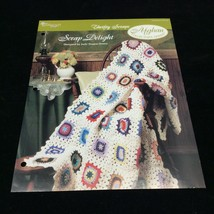 Scrap Delight Afghan The Needlecraft Shop Crochet Pattern Instructions 1994 - $5.69