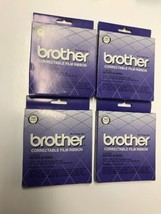 Brother Correctable Film Ribbon Black 1030 - Lot of 4 Brother AX Series - $14.84