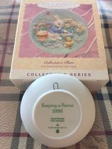 Hallmark 1996 Collector's Plate - Easter Collection Ornament - New In Box! image 3