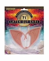 Costume Elf Ears Latex Flesh Color Theatrical - $2.47