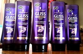 5 Schwarzkopf Gliss Hair Fiber Therapy Repair Conditioner Keratin  Damag... - $41.55