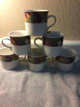 (6)  STUDIO NOVA--PALM DESERT-- COFFEE MUGS / CUPS---FREE SHIP--VGC - $37.07