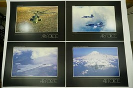 US Air Force Lithograph Prints Set Of 5 Rare Art Collection USAF Photogr... - $39.99