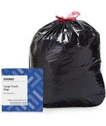 Amazon Brand - Solimo Multipurpose Drawstring Trash Bags, 30 Gallon, 50 ... - $14.99+