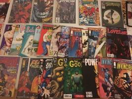 Comic Book (Lot of 35) 1990's (Pitt # 1, 2, 3, & 4) issue Goon Iron Fist Marvel - £75.75 GBP