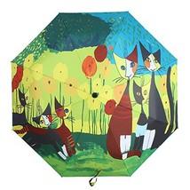 Molshine Anti-skid Matte Handle Rainning And Anti-UV Folding Umbrella fo... - $19.13